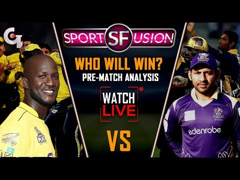 Peshawar Zalmi vs Quetta Gladiators Live Pre Match Analysis | Sports Fusion Live | GTV News