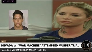 War Machine Trial Day 4 Part 1 (Christy Mack Continues to Testify) 03/09/17