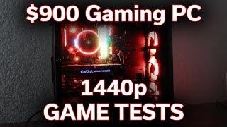 1440p Game Benchmarks - $900 Gaming PC - Part 4
