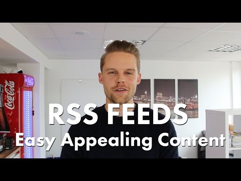RSS FEEDS! Create Easy  Digital Signage Content With Viewneo