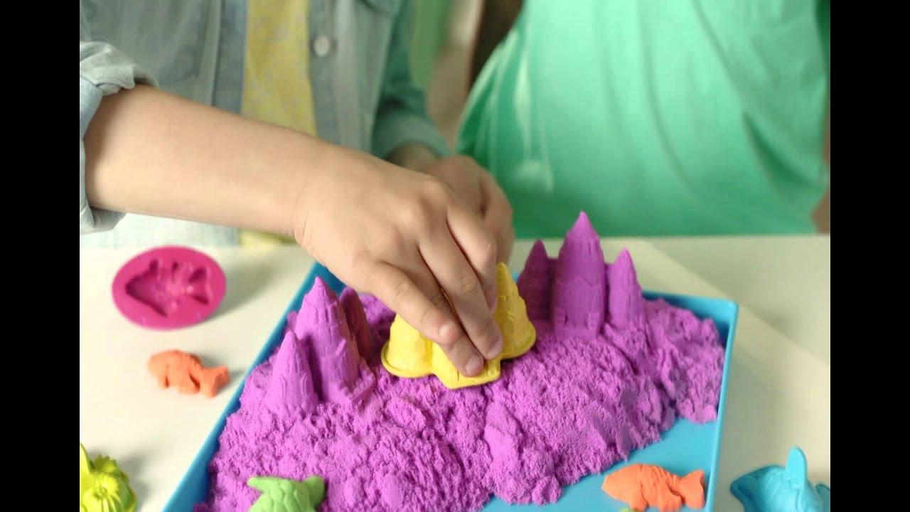 Кинетический песок - Kinetic Sand. В продаже на TOY.RU