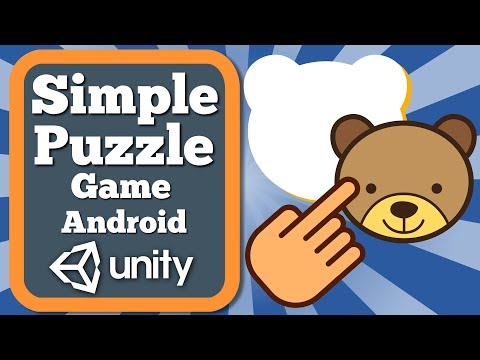 Unity Tutorial How To Make Simple Puzzle Game For Android | Educational Game For Kids