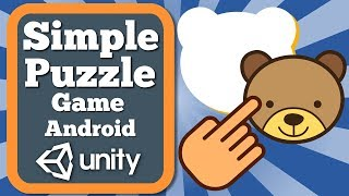 Unity Tutorial How To Make Simple Puzzle Game For Android   Educational Game For Kids