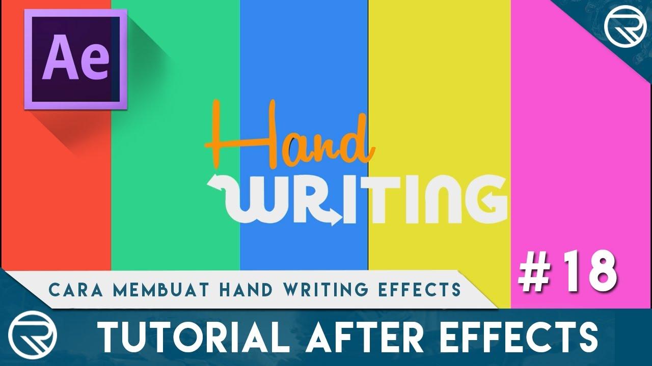 AE Basics 30: The Write-on Effect