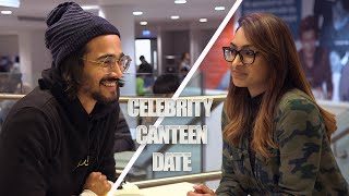 Celebrity Canteen Date – Bhuvan Bam gets set up with our producer