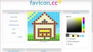 Как создать иконку сайта (favicon)