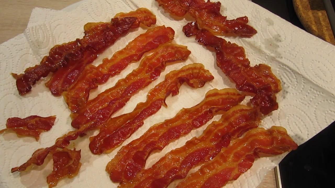 Bacon Im Ofen Knusprig Backen Youtube