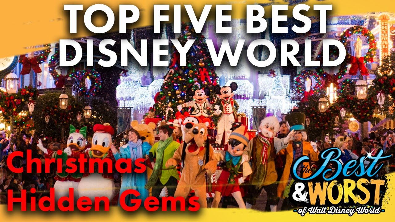 Christmas At Disney World And Holiday Highlights