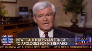 """Newt Gingrich...""""I Demand You Don't Quote Me"""""""