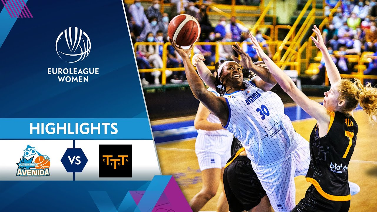 Perfumerias Avenida Salamanca - TTT Riga | Highlights | EuroLeague Women 2021/22