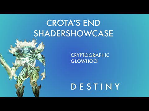Destiny: Crota's End Shader Showcase / Cryptographic and Glowhoo