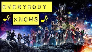 Download Lagu Everybody Knows: Avengers Infinity War Mp3