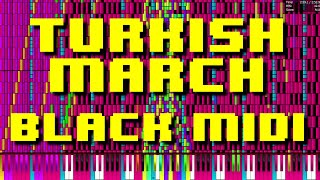 Turkish March - Wolfgang Amadeus Mozart ~ Black MIDI by RetroUniversalHT