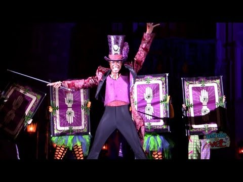 """Dr. Facilier sings """"Friends on the Other Side"""" at 2011 Mickey's Not-So-Scary Halloween Party"""