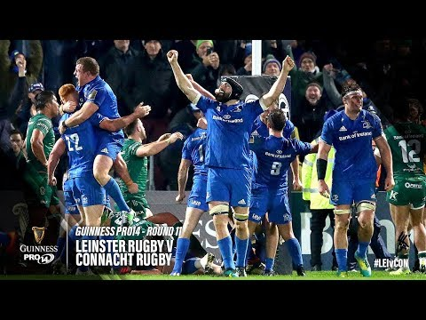 Guinness PRO14 Round 11 Highlights: Leinster Rugby v Connacht Rugby