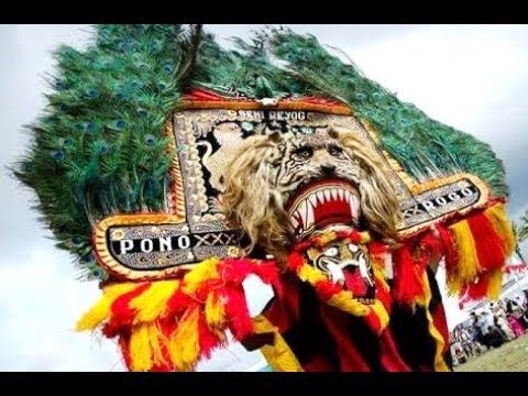 Gamelan REOG PONOROGO Music Dadak Merak - Giant Mask Dance [HD]