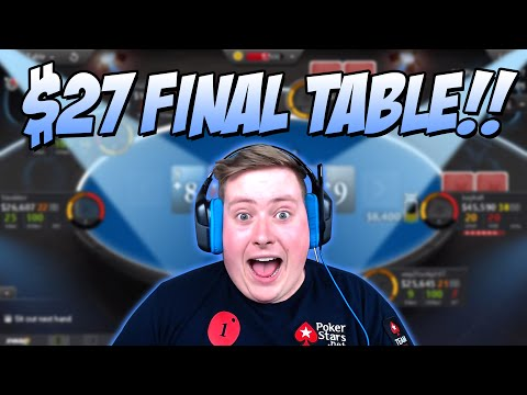 FINAL TABLE HYPE!!! - Poker Staples Stream Highlights June 12th 2016
