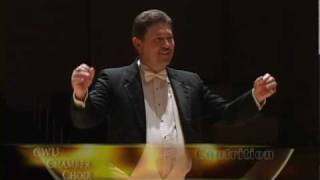 "CWU Chamber Choir: Ola Gjeilo, ""Contrition"""