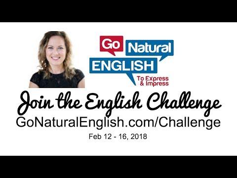 ENGLISH CHALLENGE - DAY 1