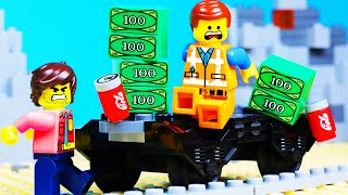 Lego Movie 2 Train Robbery Police Fail Toy Animation