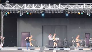 "Six Flags Freestyle Music Festival 8/8/15 - Noel ""Silent Morning"""