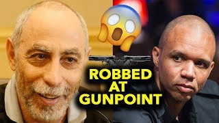 (WHOA!) Phil Ivey & Barry Greenstein ROBBED at GUNPOINT Story !