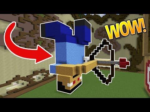 ONLY UPSIDE DOWN CHALLENGE!! (Minecraft Build Battle)