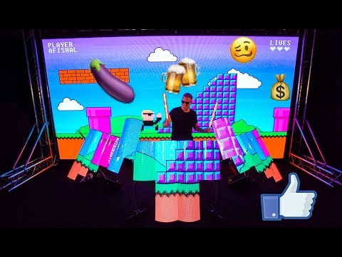 💊 DRUMMER PLAYS MUSIC & ARCADE GAME! 💊 AFISHAL & Richie Nuzz - Bad Habits