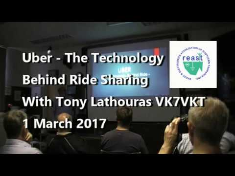 Technology Behind UBER Ride Sharing - VK7VKT
