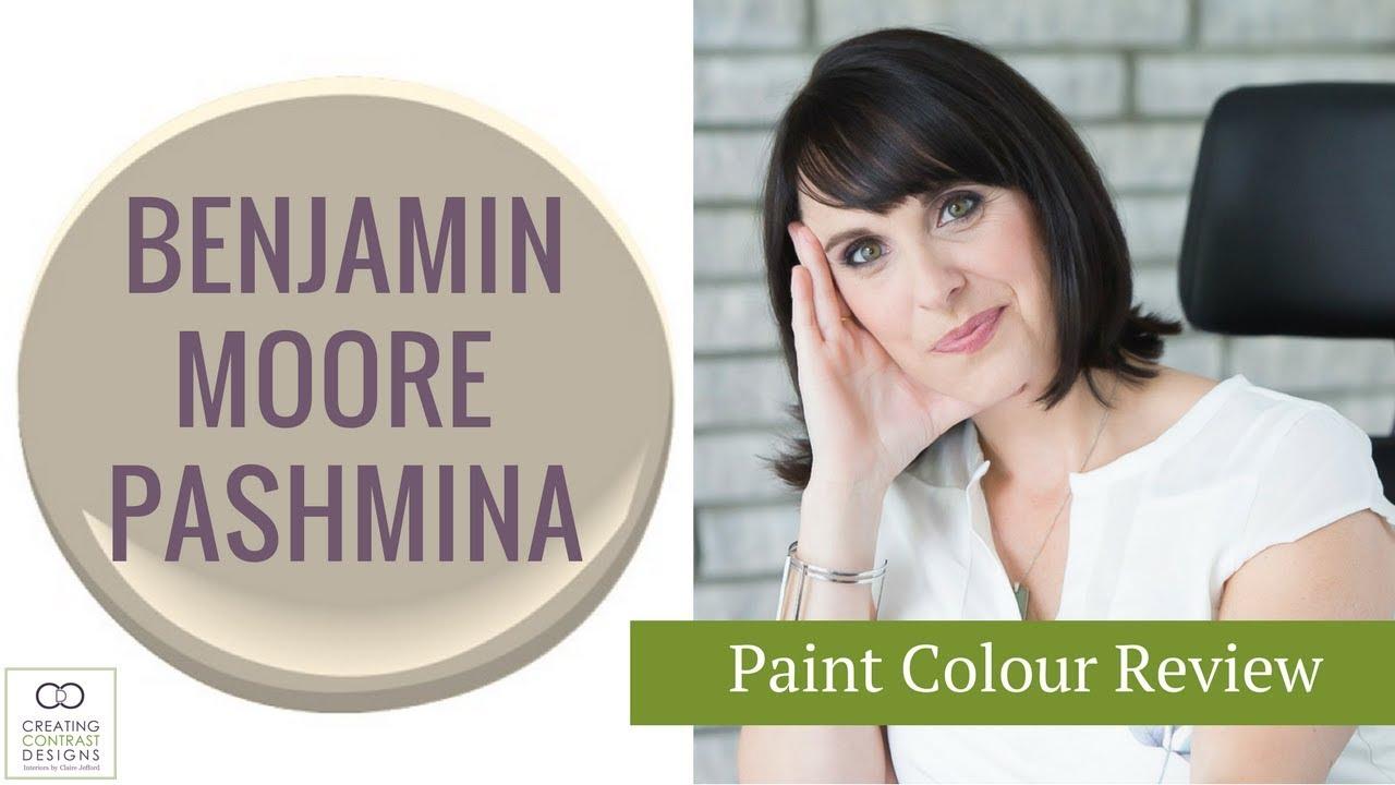 Benjamin moore paint colour pashmina interior design
