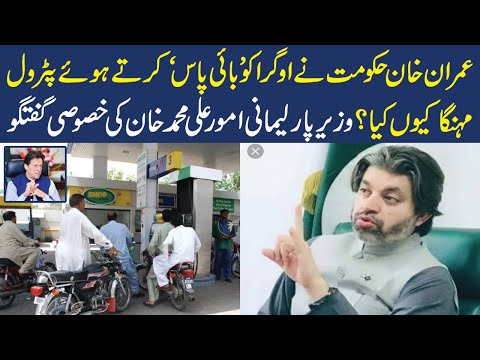 Ali Muhammad Khan Exclusive Talk regarding Petrol Price and PTI Govt Performance