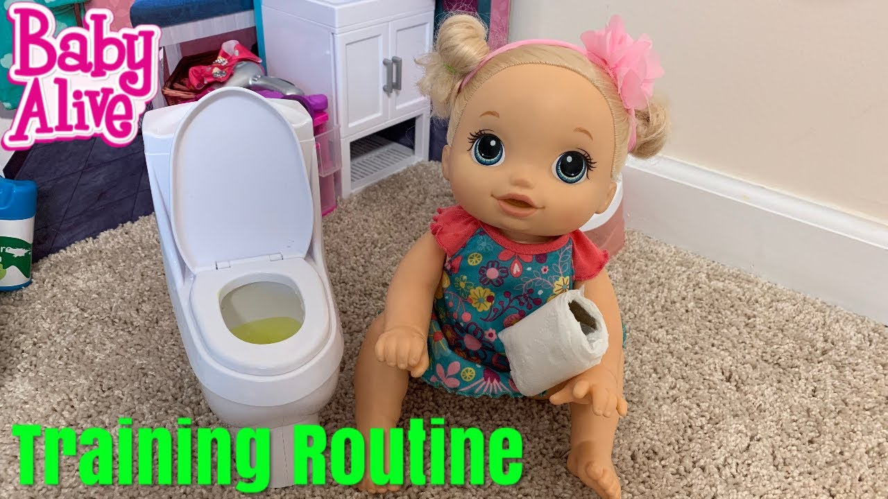 Baby Alive Afternoon Routine and training - YouTube