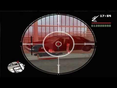 GTA San Andreas Cleo Laser Script Splatter BLOOD Effect - HD