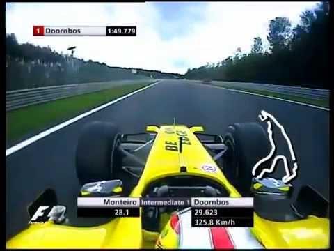F1 Spa 2005 Tiago Monteiro Jordan Toyota EJ15