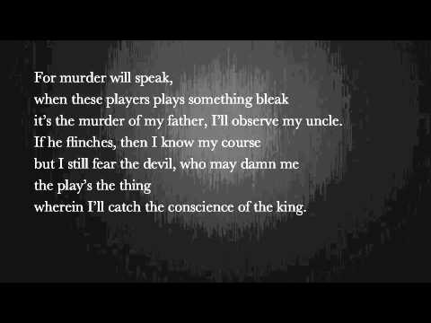 Hamlet's Four Soliloquies As A Rap - YouTube