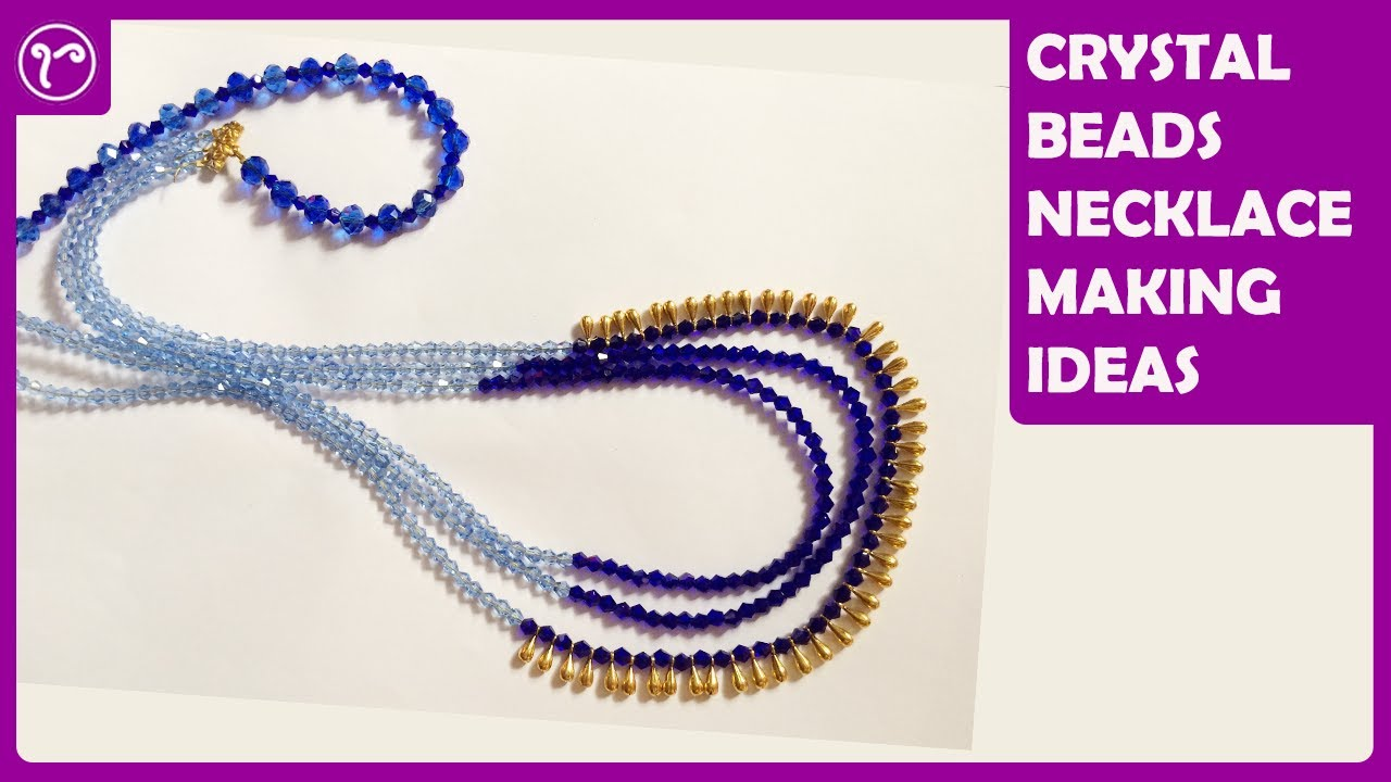 How to make Multilayer necklace with Dori Jewelry Making Tutorial