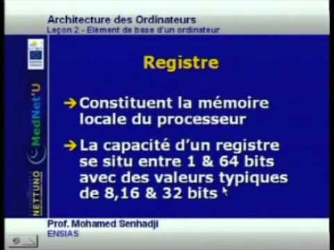 Architecture des ordinateurs le on 2 viyoutube for Architecture d un ordinateur