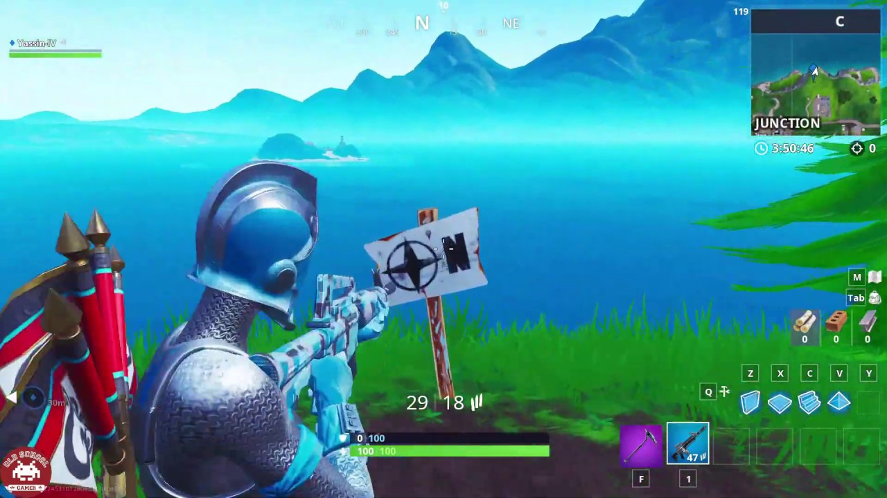 furthest north south east west point locations guide season 8 challenge fortnite - fortnite furthest north south east west challenge