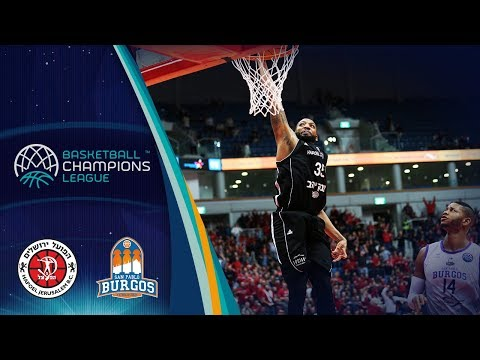 Hapoel Jerusalem V San Pablo Burgos – Highlights – Basketball Champions League 2019-20
