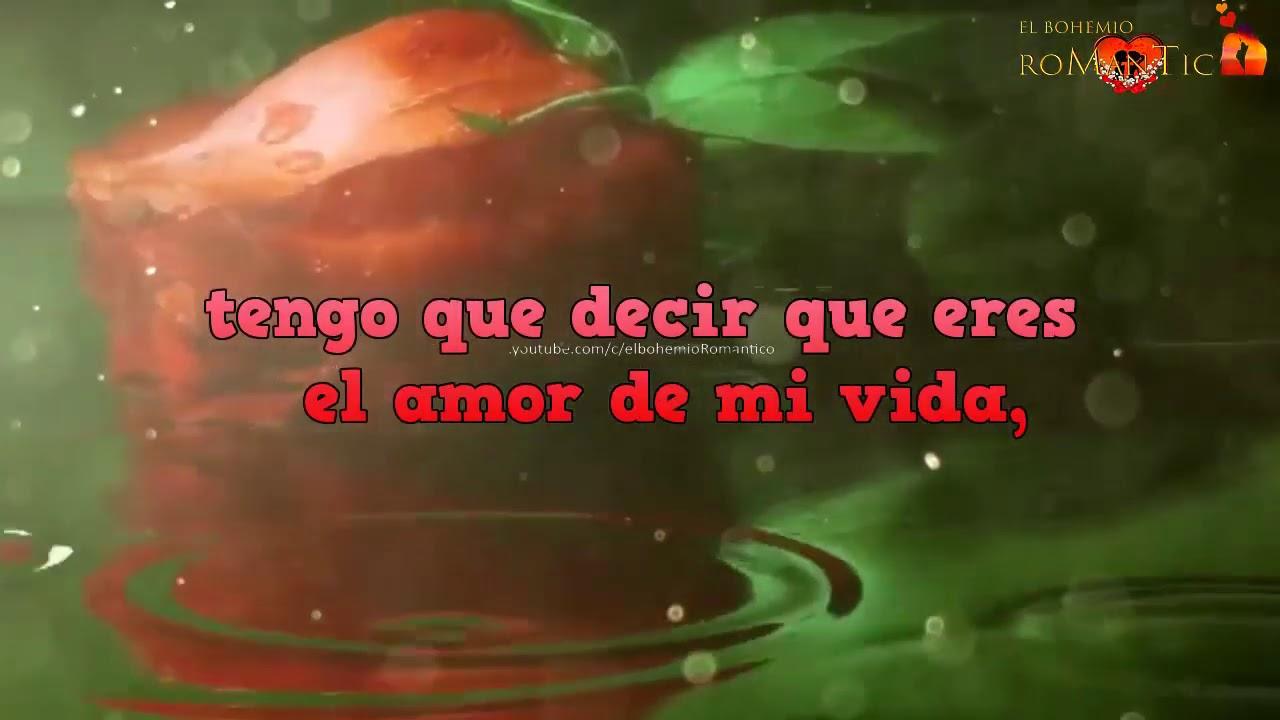 Amor te dedico este vídeo Te amo mi amor mira este video sin llorar Eres un hombre maravilloso mira