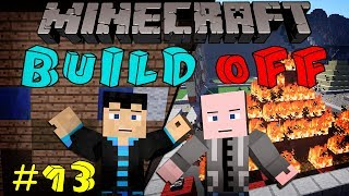 Minecraft: BUILD OFF - #13 - APRIL FOOLS w/ StrauberryJam & Vasehh