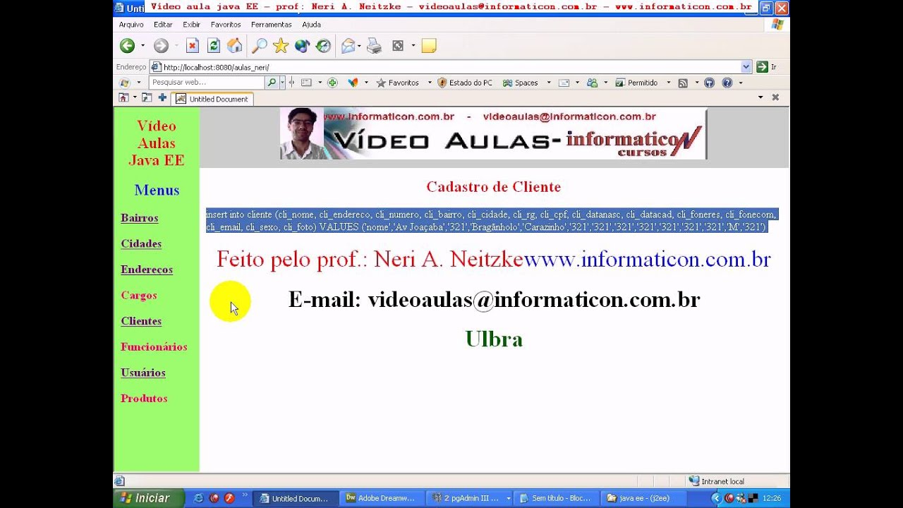 aula 102 java ee Resolvendo multipart form data no jsp Cliente