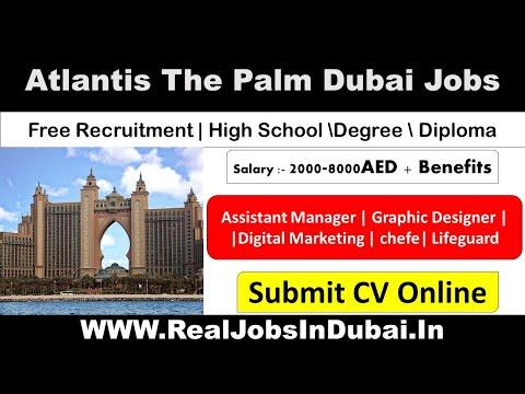 Atlantis Careers In Dubai | Atlantis The Palm Dubai Jobs – UAE 2020