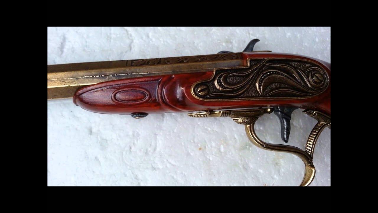 Cap Gun Dueling Pistol English Percussion Replica