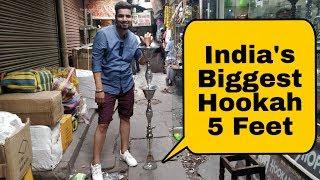 Biggest Hookan In India | Hookah Market | Aminabad | Lucknow | VBO Life | 2018