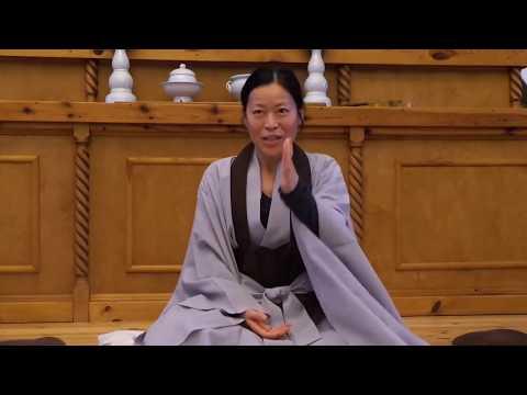 Zen Master Gu Ja - Just eat, sleep and shit
