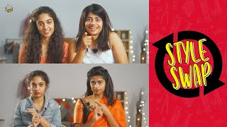 Style Swap Challenge Ft. Harshitha | Kiraak Style | Chai Bisket