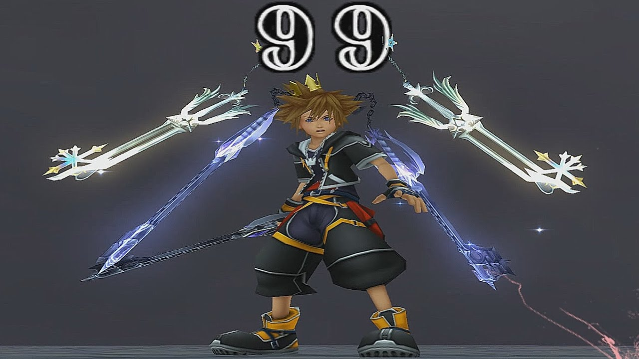 Kingdom Hearts II: Final Mix - Roxas Keyblades x2 (6 Keyblades ...