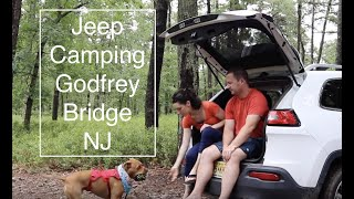 Jeep Camping at Godfrey Bridge- Warton State Forest Pine Barrens- Batsto NJ