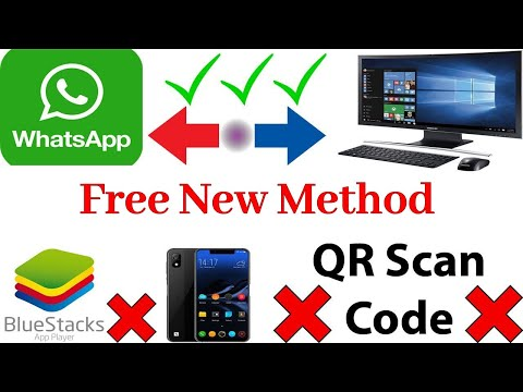 How To Install Whatsapp On PC Laptop Without Smart Phone | Without  Bluestacks | Without  QR Code